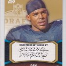 2011 Topps Rising Rookies Gold Cam Newton RC Panthers