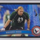 2011 Topps Chrome Black Refractor Brooks Reed Texans RC /299