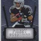 2011 Topps Chrome Finest Freshman Taiwan Jones Raiders RC