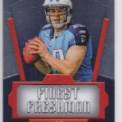 2011 Topps Chrome Finest Freshman Jake Locker Titans RC