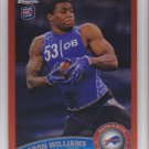 2011 Topps Chrome Orange Refractor Aaron Williams Bills RC