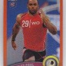 2011 Topps Chrome Orange Refractor Niles Paul Redskins RC