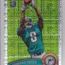 2011 Topps Chrome Xfractor Edmond Gates Dolphins RC