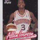 1996-97 Fleer Ultra Rookie Allen Iverson Sixers RC