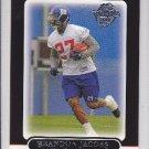 2005 Topps Black Brandon Jacobs Giants RC