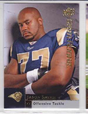 2009 Upper Deck Jason Smith Rams SP RC