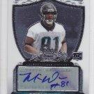 2007 Bowman Sterling Autograph Mike Sims Walker Jaguars RC