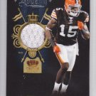 2011 Crown Royale Rookie Royalty Jersey Greg Little Browns /299 RC