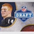 2011 Topps Rising Rookies Draft Andy Dalton Bengals RC
