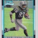2001 Bowman Chrome Santana Moss Redskins /1999 RC