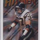 1997 Finest Rodney Harrison Chargers Patriots RC
