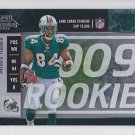 2009 Contenders Playoff Ticket Patrick Turner Jets  /99 RC
