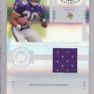 2004 Certified Jersey Mewelde Moore Vikings Steelers /1250 RC