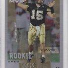 2001 UD Rookie F/X Drew Brees Saints /750 RC