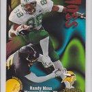 1998 Skybox Thunder Randy Moss Vikings RC