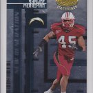 2005 Leaf Certified Shawne Merriman Chargers /1000 RC