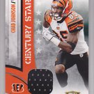 2008 Threads Jersey Chad Johnson Bengals /250