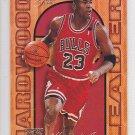 1995-96 Fleer Flair Hardwood Leaders Michael Jordan Bulls