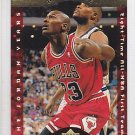 1996-97 Collector's Choice A Cut Above CA3 Michael Jordan Bulls