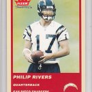 2004 Fleer Tradition Philip Rivers Chargers RC