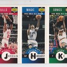 1996-97 Collectors Choice Mini-Cards Michael Jordan Bulls