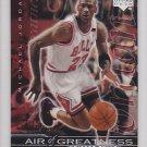 1999-00 Upper Deck Air of Greatness Michael Jordan Bulls