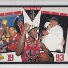 1993-94 Upper Deck Three Straight SP4 Michael Jordan Bulls