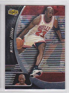 1998-99 UD Ionix #5 Michael Jordan Bulls