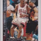 1999-00 UD Ovation MJ Center Stage #3 Michael Jordan Bulls