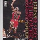 1995-96 UD Collector's Choice He's Back M3 Michael Jordan Bulls