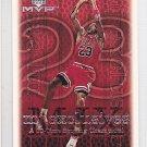 1999-00 UD MVP MJ Exclusives #184 Michael Jordan Bulls
