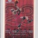 1999-00 UD MVP MJ Exclusives #197 Michael Jordan Bulls