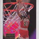 1993-94 Fleer Ultra Inside Outside Michael Jordan Bulls