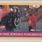 1990-91 Hoops Michael Jordan's Playground Michael Jordan Bulls