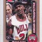 2008-09 Fleer Jordan Retrospective MJ20 Michael Jordan Bulls