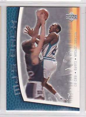 2001-02 Upper Deck MJ's Back #MJ77 Michael Jordan Bulls