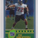 2003 Topps Chrome Osi Umenyiora Giants RC