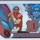2004 Press Pass Big Numbers Eli Manning Giants RC