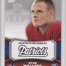 2011 Topps Rising Rookies Ryan Mallett Patriots RC
