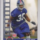 2008 Stadium Club Photographers Proof Silver Terrell Thomas Giants /199 RC