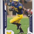 2008 Upper Deck Draft Edition Mario Manningham Giants RC