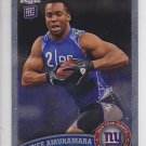 2011 Topps Chrome Prince Amukamara Giants RC