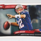2010 Topps Peak Performance Tom Brady Patriots