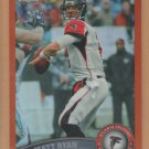2011 Topps Chrome Orange Refractor Matt Ryan Falcons