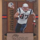 2010 Contenders Rookie of the Year Rob Gronkowski Patriots RC