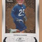 2009 Donruss Classics Patrick Chung Patriots RC /999