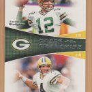 2011 Topps Faces of the Franchise Brett Favre Aaron Rodgers Packers