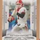 2009 Playoff Prestige Rookie Matthew Stafford Lions RC