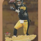 2005 Fleer Ultra Gold Medallion Die-Cut Ben Roethlisberger Steelers