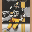 2004 Playoff Honors Prime Signatures L.C. Greenwood Steelers /999